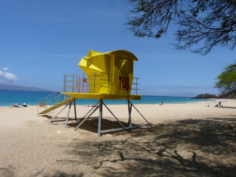 Lifeguard Towers on Makena/ Big Beach