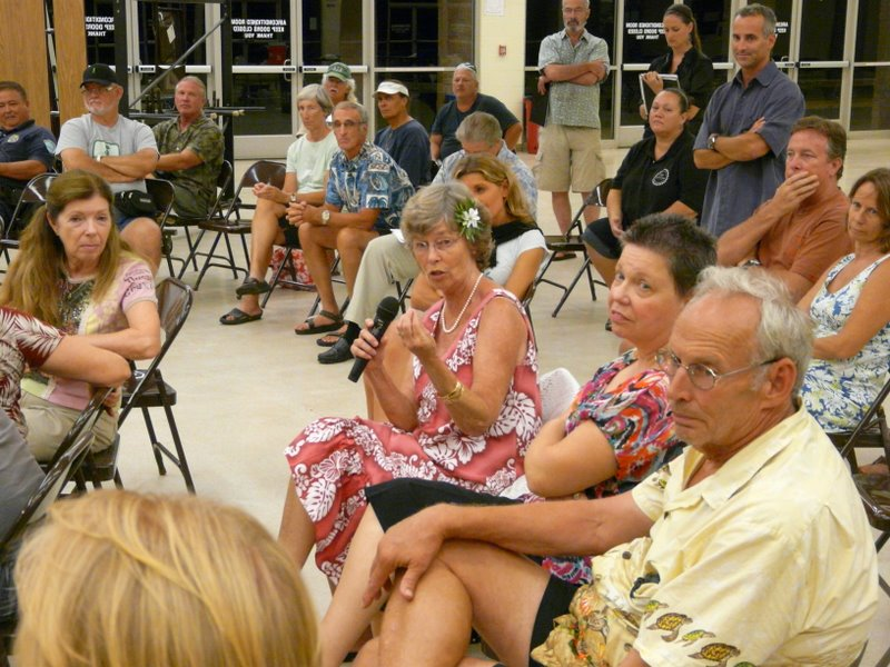 August 18th Meeting Brings Lively Discussion