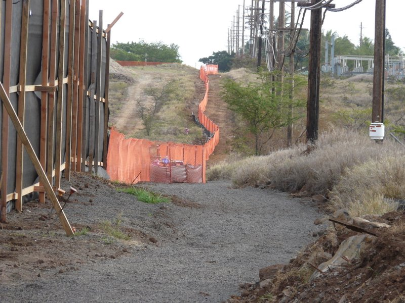 Park Construction Accommodates Pedestrian Students