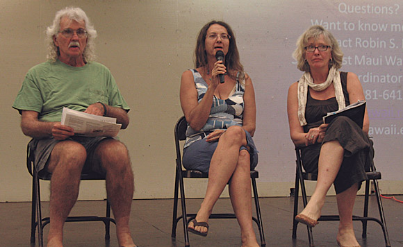 Environmentalists Explore Maui's Water Issues