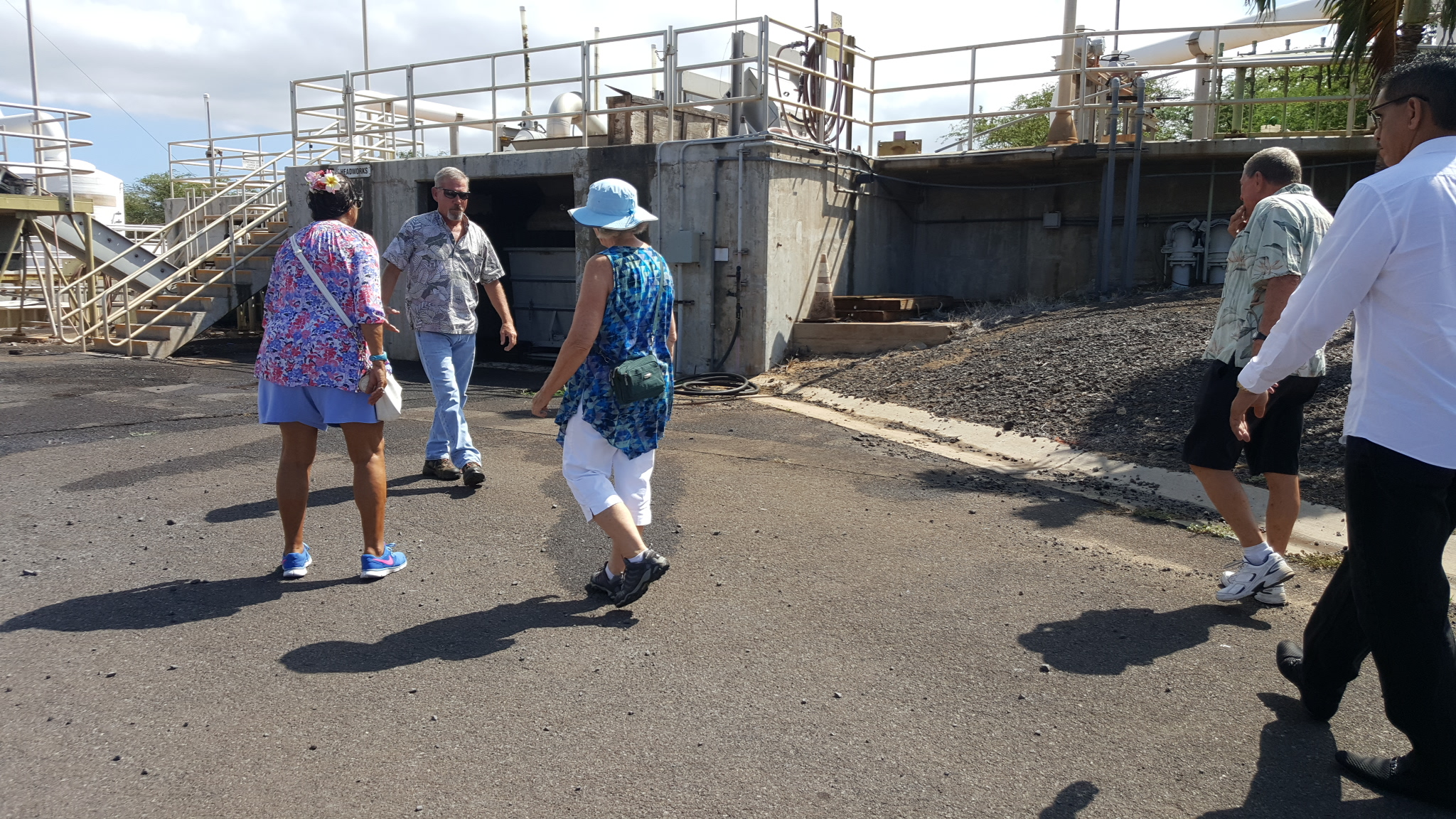 A Visit to the Kihei Wastewater Treatment Plant
