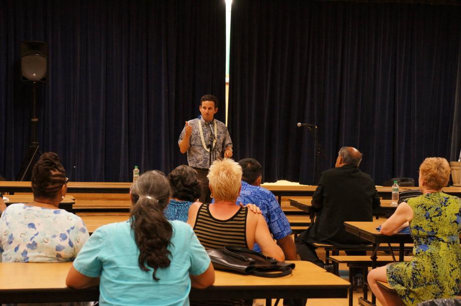 Senator Brian Schatz Hosts Town Hall Meeting July 2 at Kahului Elementary School