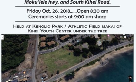 South Maui's Historical Land Districts – October 26