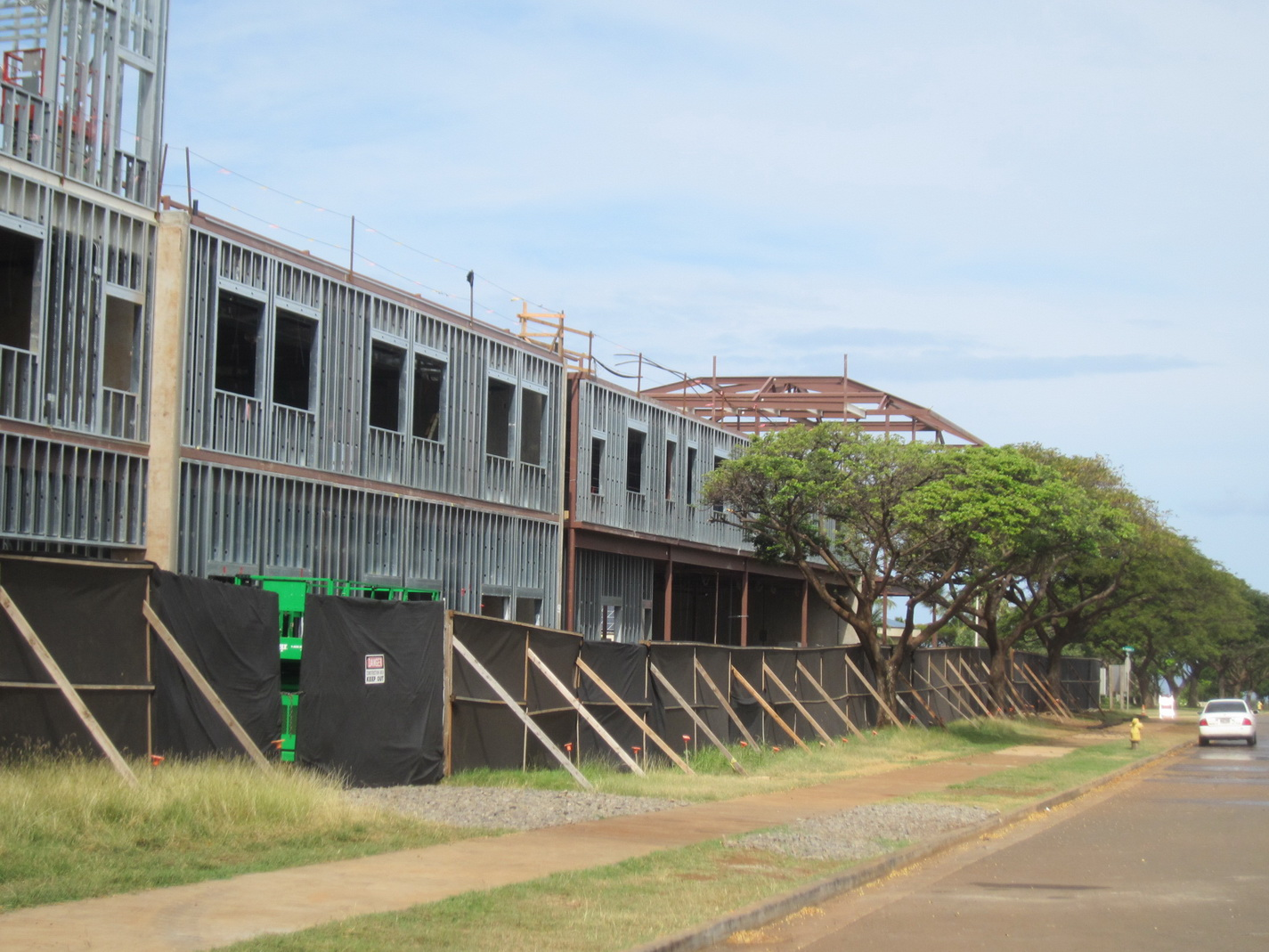 What's UP?  Kihei School Construction sure is!