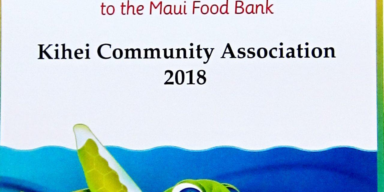 Maui Food Bank Need Continues