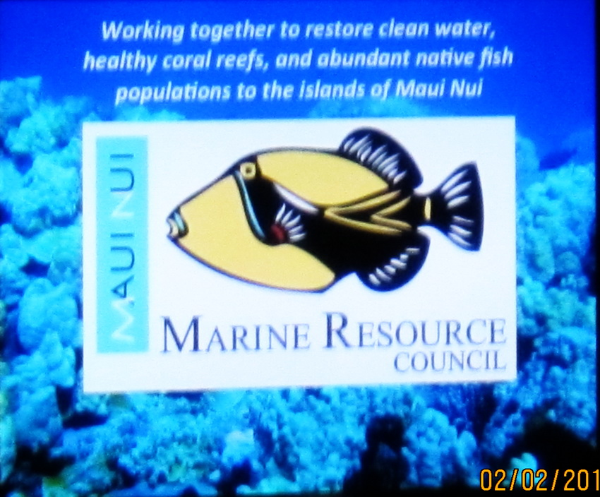 KCA testimony in support of preserving & protecting Maui County's  coral reef system