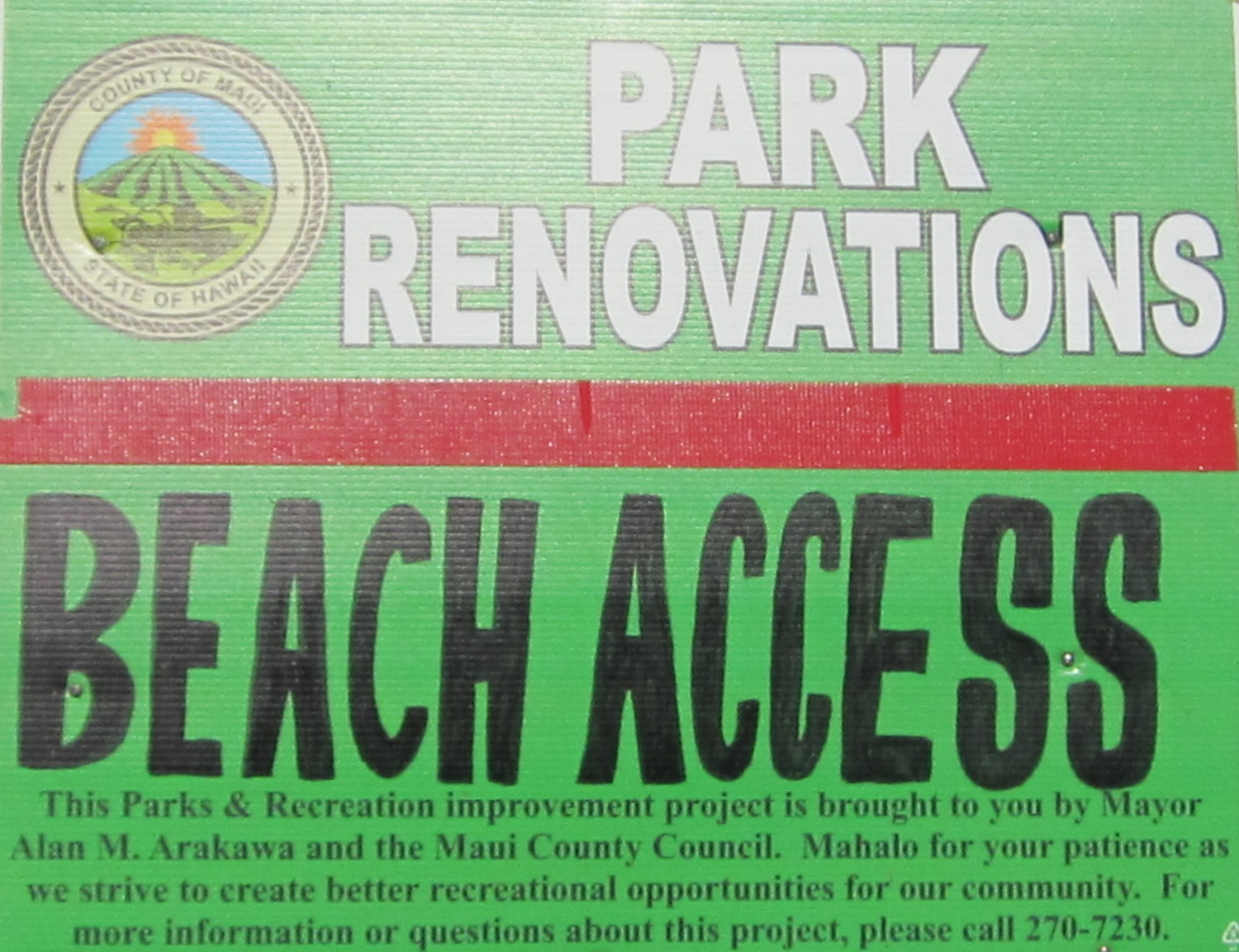 COUNTY  COMMITTEE APPROVES PURCHASE OF NORTH KIHEI SHORELINE PROPERTY
