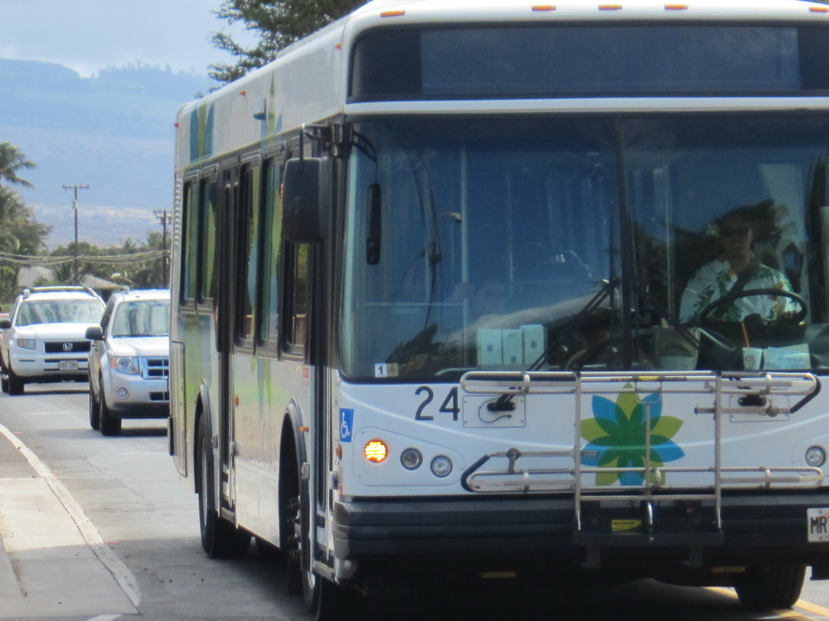 How often do you ride the Maui Bus? Meeting this Monday