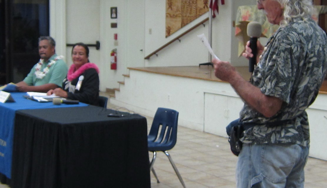 First County Candidate Forum Fills the Room