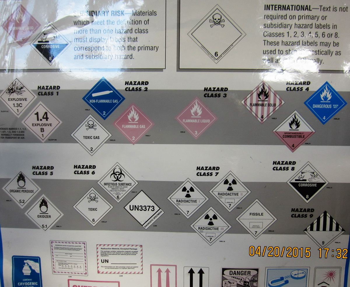 What do you do with your hazmat??? Up this weekend!