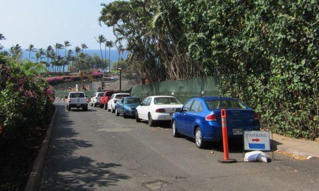Ulua Beach, Wailea Parking Lot Partially Closed Starting June 3rd