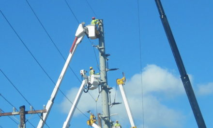 DID MECO UPGRADING KNOCK OUT POWER IN NORTH KIHEI THURSDAY EVENING?