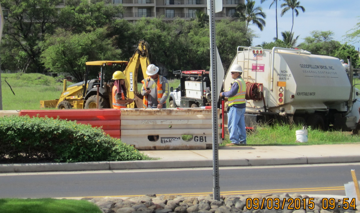 Road Closed! INITIAL CONSTRUCTION BEGINS ON THE KRAUSZ DOWNTOWN KIHEI PROJECT