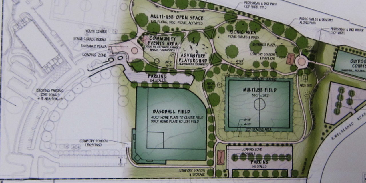 "South Maui Community Park has a Proposed ""Final"" Plan But No Definitive Date of Completion"
