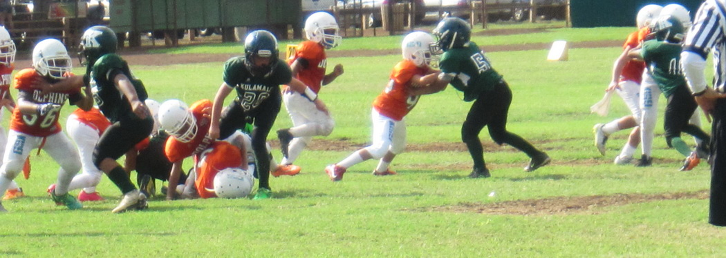 How does Sunday Morning Football relate to the Kihei Community Association?