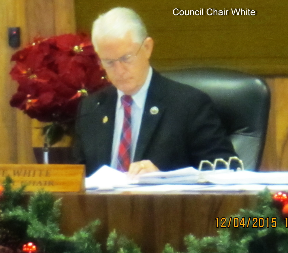 Friday AM in Council Chambers (12/4/15)