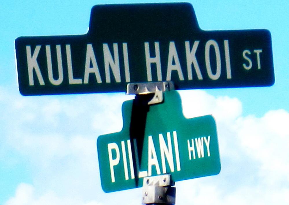 More to the Kulanihakoi traffic signal light than just motor vehicles