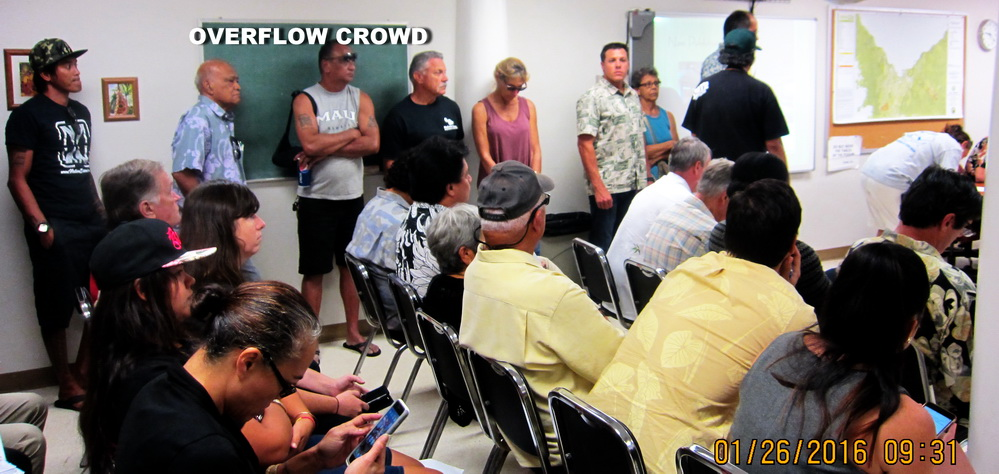 SEE KCA RESPONSE–Maui Island residents tell Commissioners to say NO to ATC Makena!