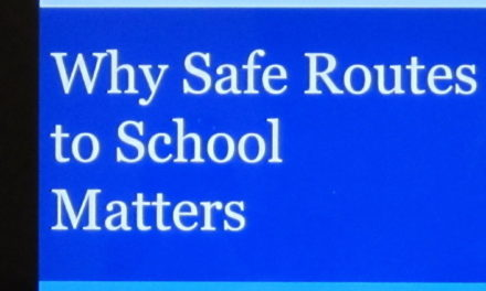 """Safe Routes To School"" presentation by the State Department of Transportation"