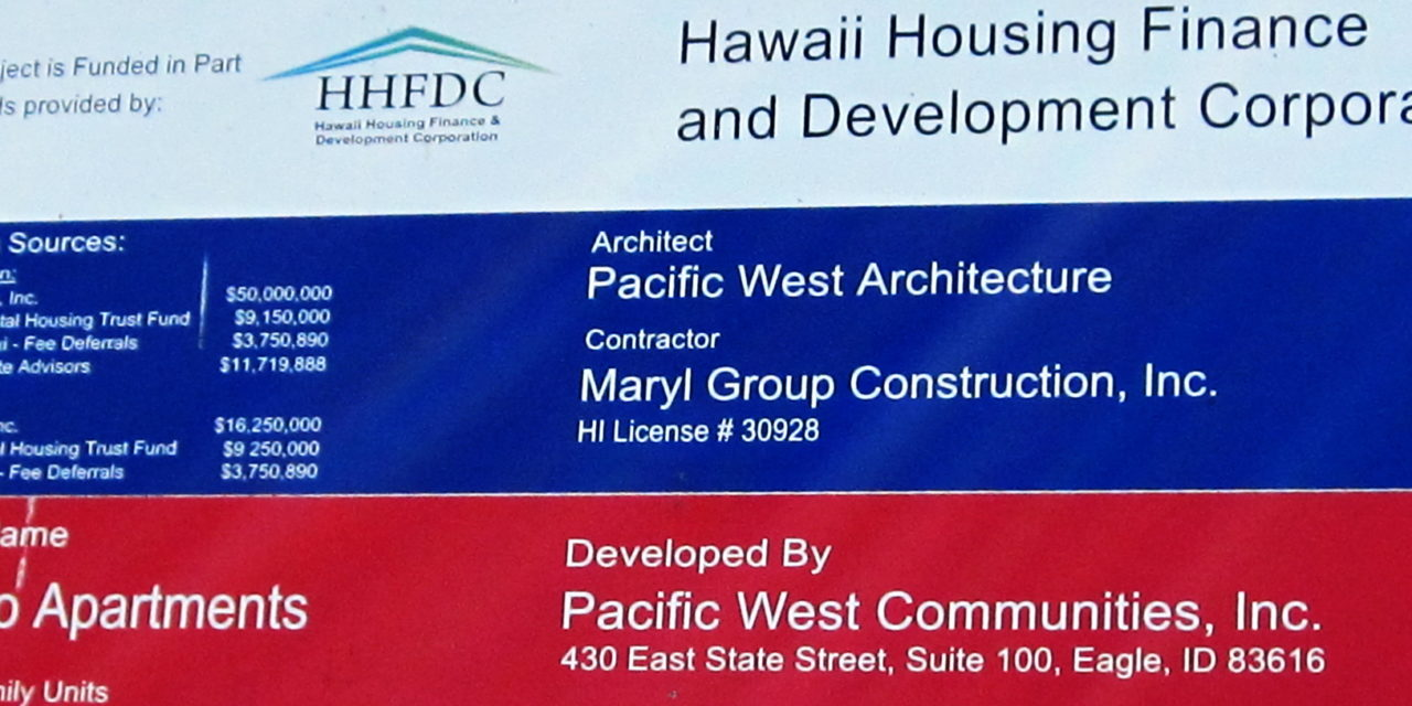 UPDATE:What else on affordable housing in South Maui?