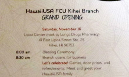 Hawaii USA Federal Credit Union Grand Opening