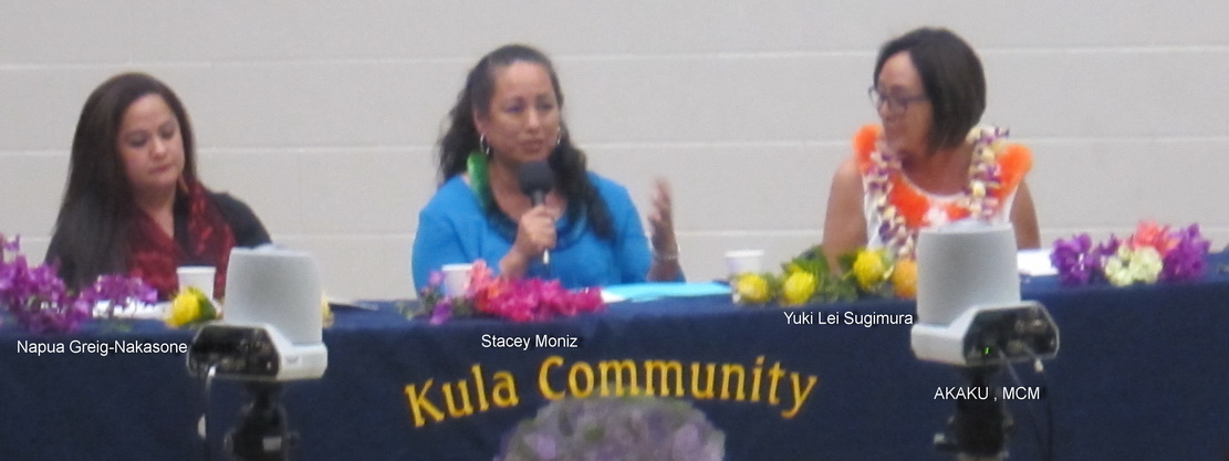 KCA CONDUCTS CANDIDATES' FORUM ON WEDNESDAY EVENING AT KCC FOR MULTIPLE RACES.