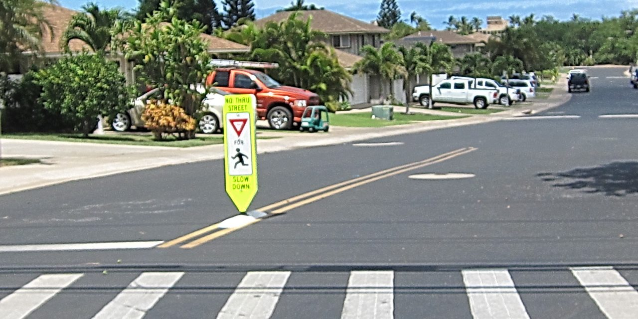 Heona Place in North Kihei is a Safe Community