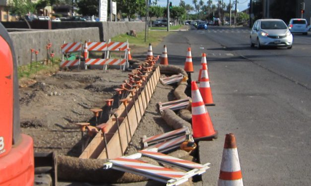 WHAT'S UP AT S W CORNER OF LIPOA ST. AND S. KIHEI RD?