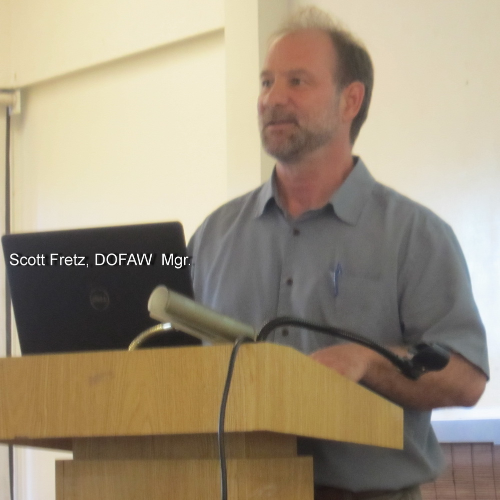 DLNR- DOFAW PUBLIC HEARING ON HABITAT CONSERVATION PLAN ON MAJOR KIHEI PROJECT