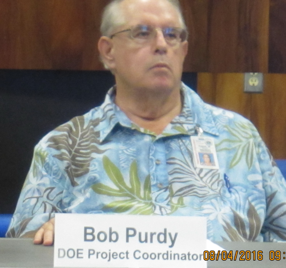 Council's Planning Committee induces Kihei resident testimony this morning
