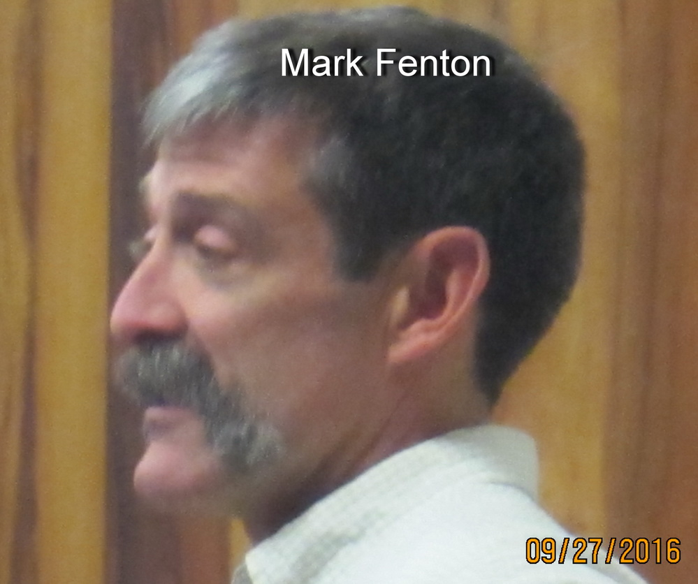 Mark  Fenton invited back to Planning Commission  Tuesday afternoon