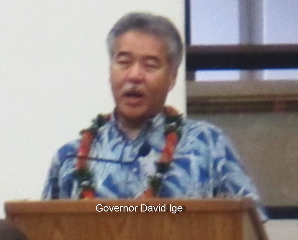 GOVERNOR SPEAKS TO KIHEI THIS SATURDAY AFTERNOON