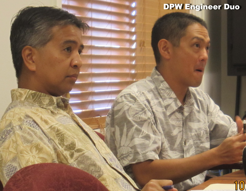We offer testimony to Commission concerning weight and speed limits in South Maui Wednesday