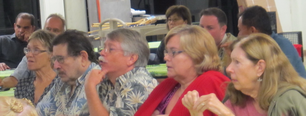 A Public Presentation draws about 60 on 217-unit condo in South Kihei on Thursday