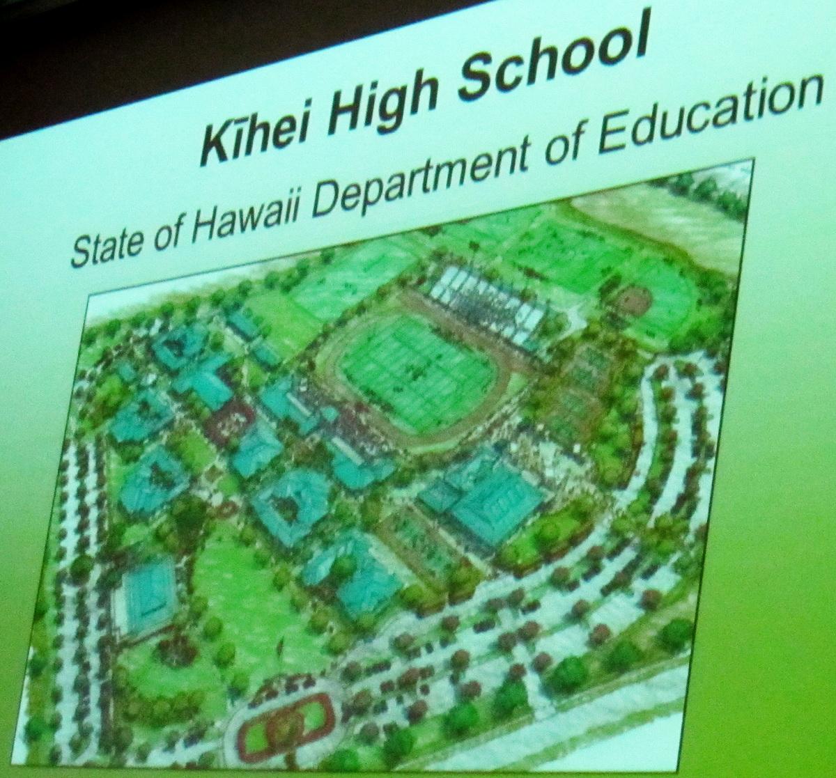 KIHEI HIGH SCHOOL GROUNDBREAKING