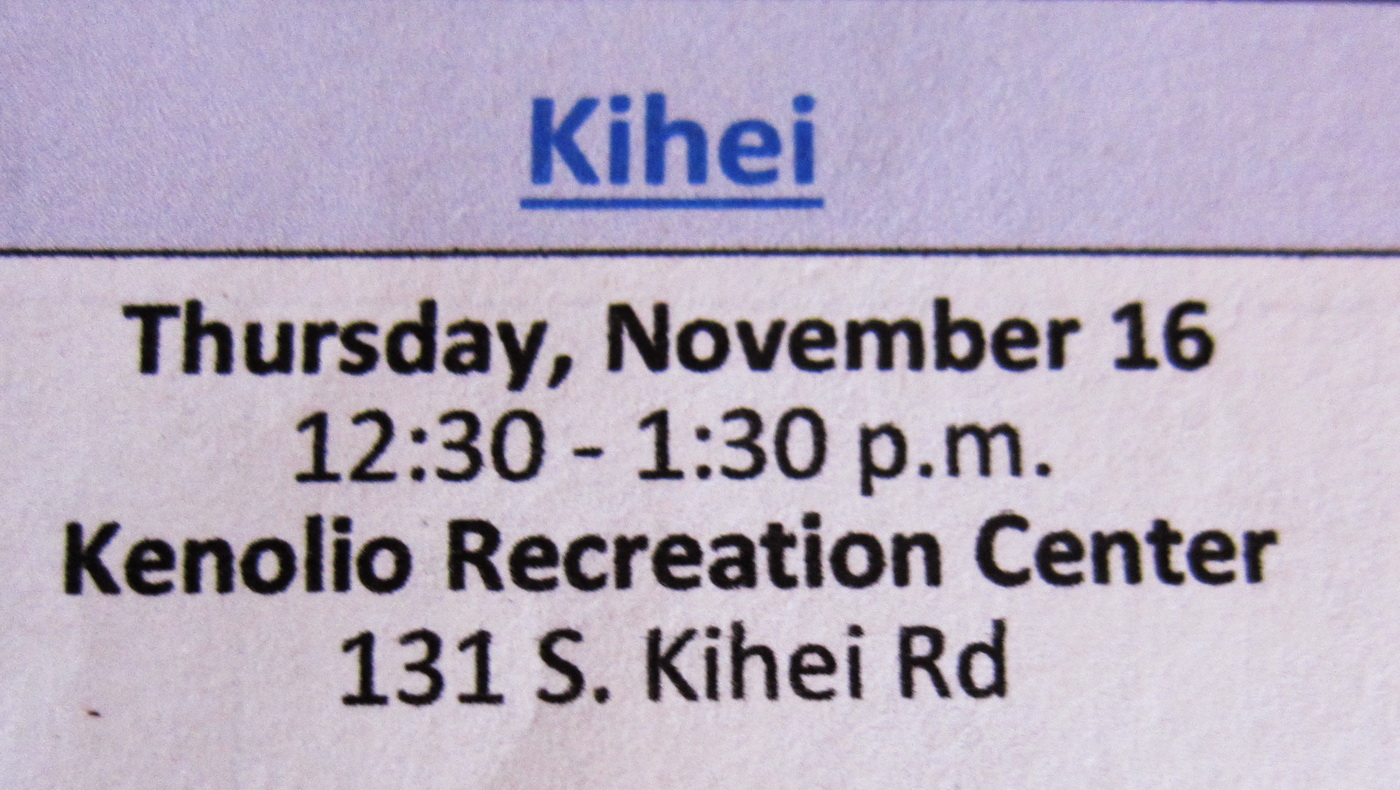 How can you affect change via the State Legislature?  PAR meeting in Kihei can tell you the best techniques