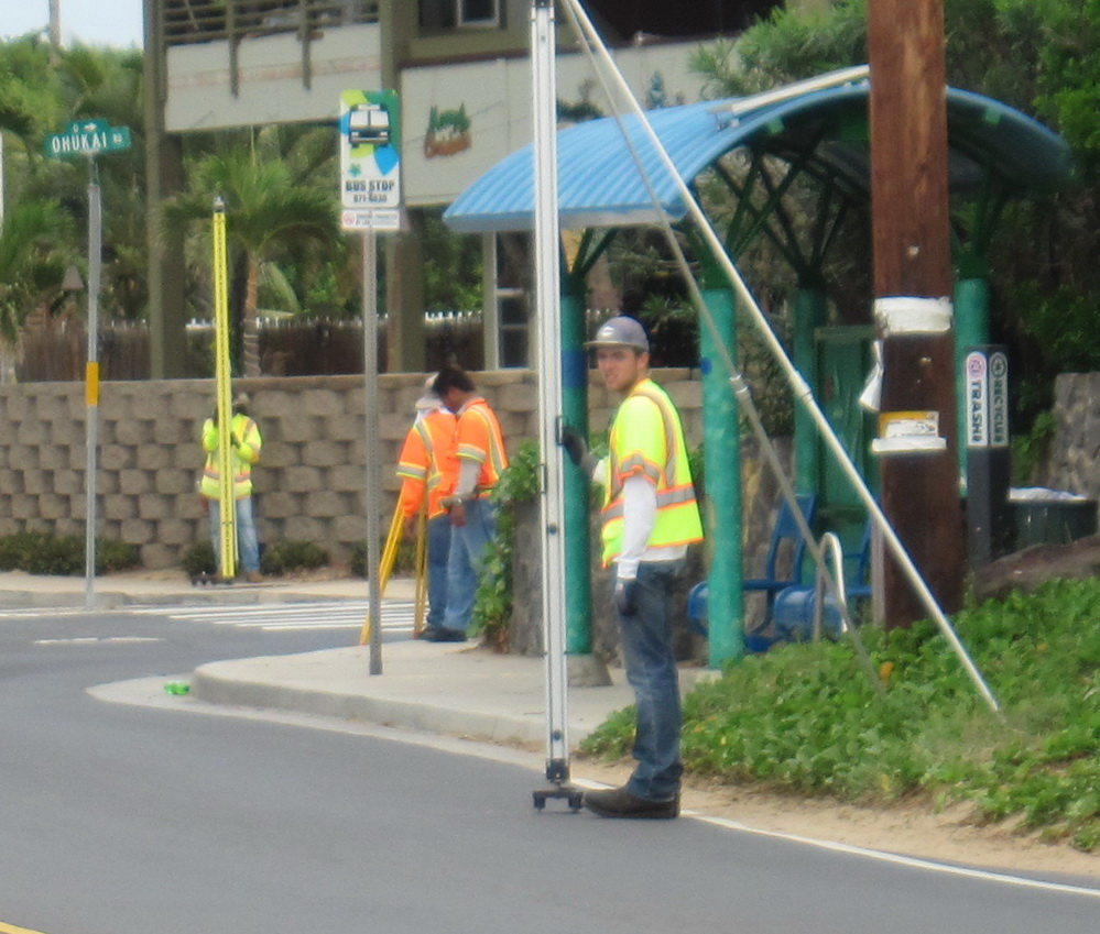 Island Wide Flooding Survey Visits Kihei