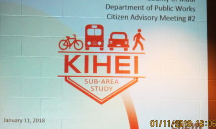 NOW is the time: what do you believe is needed concerning multimodal transportation in Kihei