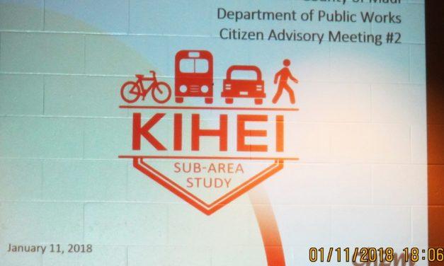 CANCELED!!!  Kihei Sub Area Transportation Study Public Meeting 3/12/20  6 PM at  Community Center