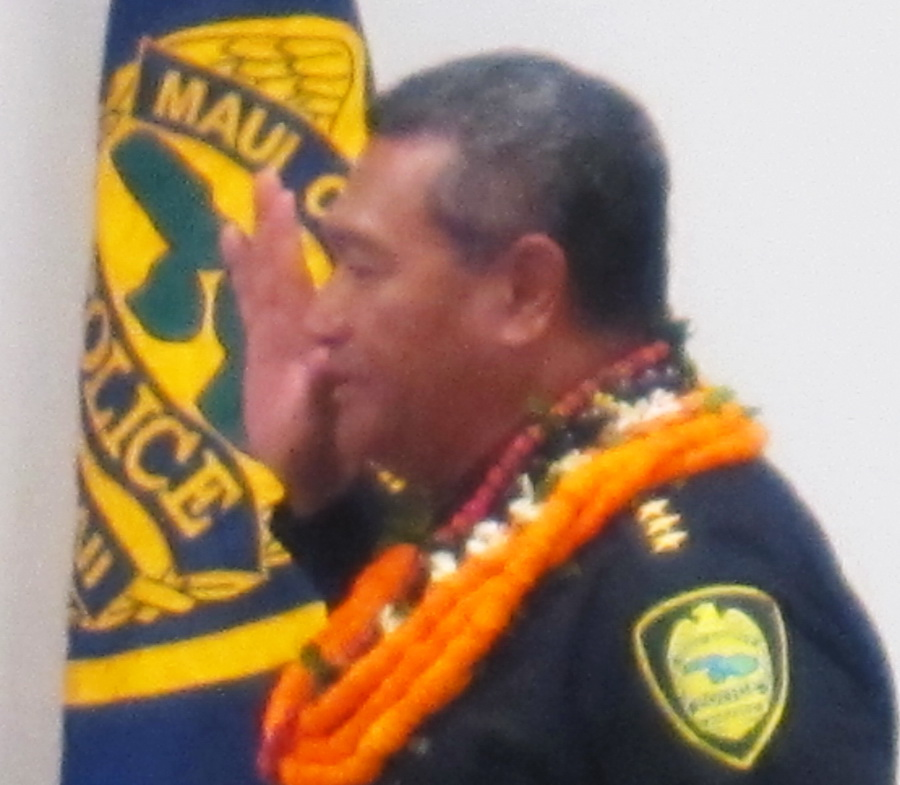 Congratulations to Chief Tivoli S Faaumu, MPD New Chief