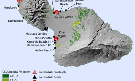 Microbial indicators of marine recreational water quality in Maui, Hawai`i