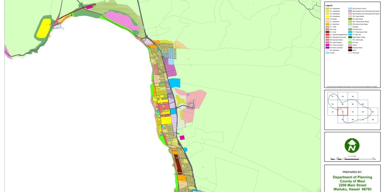 Digital Zoning Maps For Maui