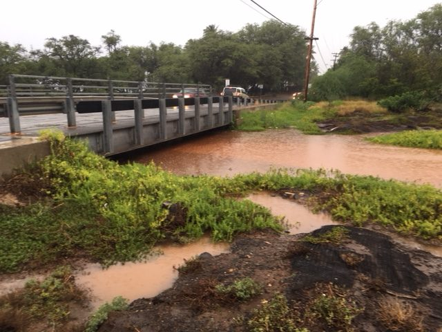 "Kihei's proposed ""Bridge Over Troubled Waters"" on South Kihei Road"