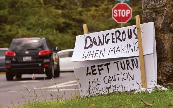 NO LEFT TURN  coming soon to Welakahao      Maui News report